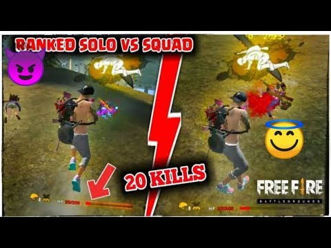 Global Ranked Squad Gameplay In Free Fire /free Fire Live Gameplay / Bomb Squad Ranked Gameplay