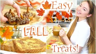 Easy & Fun Fall Treats | StilaBabe09 Thumbnail