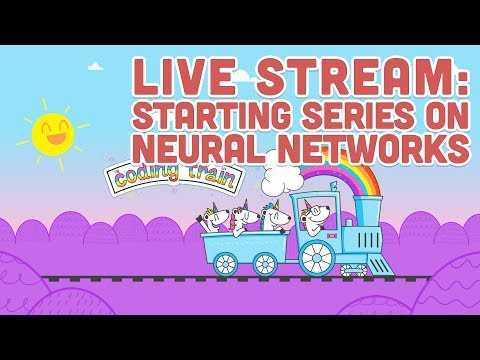 Live Stream #98: Starting Series on Neural Networks