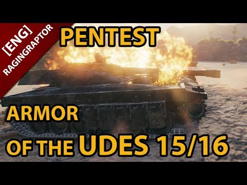 PENTEST: The ARMOR of the UDES 15/16