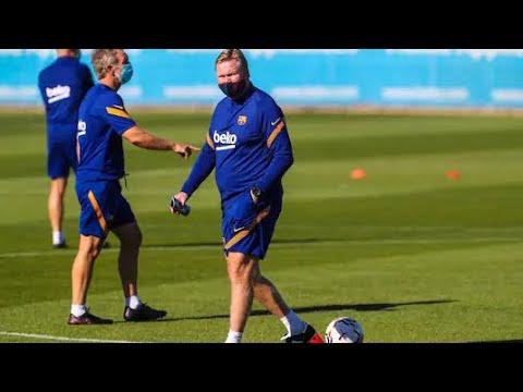 Messi boycotts Koeman's first training session   Vanguard News