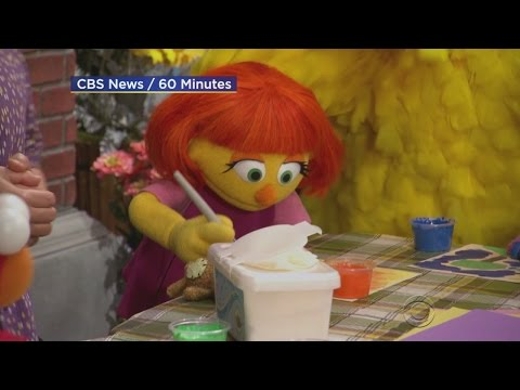 Sesame Street Debuts Muppet With Autism