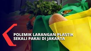 Pro Kontra Pergub Pelarangan Plastik Sekali Pakai di Jakarta
