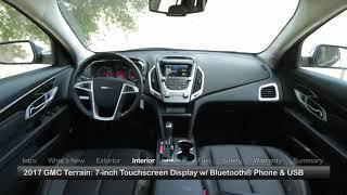 2017 GMC Terrain Test Drive
