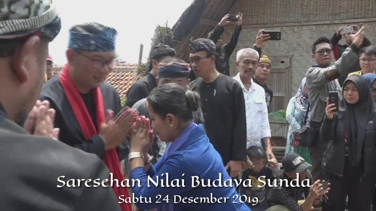"Ridwan Kamil, mendapat gelar ""Lalaki Langit Lalanang Jagad"""