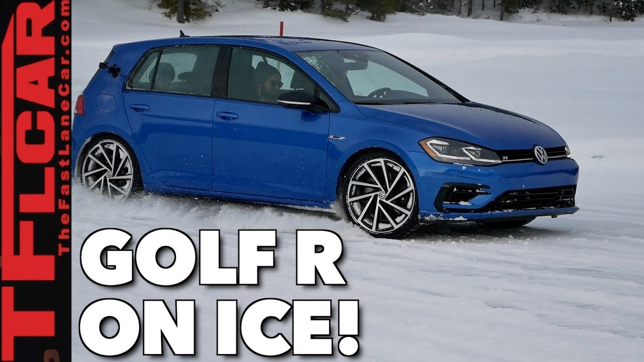 300 horsepower snow tires ice vw golf r snow. Black Bedroom Furniture Sets. Home Design Ideas