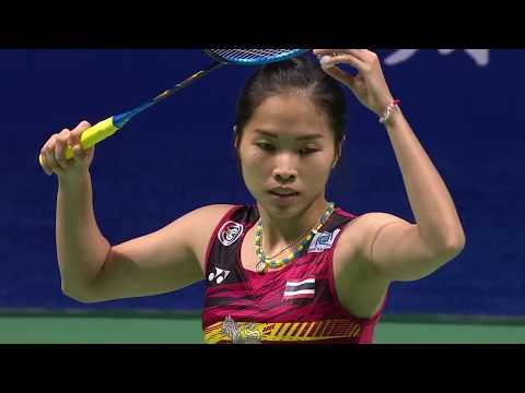 Tahoe China Open 2017 | Badminton SF M1-WS | Ratchanok Intanon vs Akane Yamaguchi