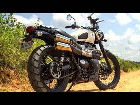 Triumph Street Scrambler 2018 : Specifications, Price - YouTube