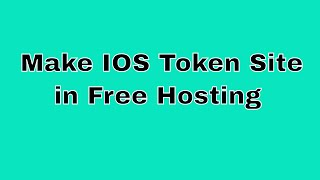 Make Facebook Token Site in Free Hosting | TricksFlare