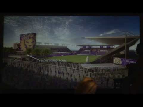 LIVE: Orlando City to Unveil New Downtown Soccer Stadium Renderings