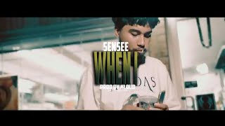 Sensee - When I | Shot By @PavFilms | (Wsc Exclusive- Official Music Video)