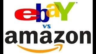 Amazon vs Ebay. Где лучше покупать?