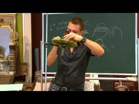 Уроки флористики: Свадебный букет на портбукете