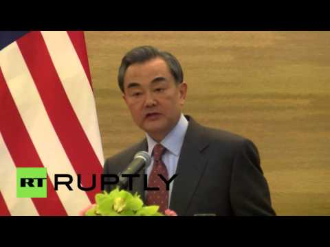 China: Kerry, Wang Yi want UN resolution on DPRK's 'nuclear programme'