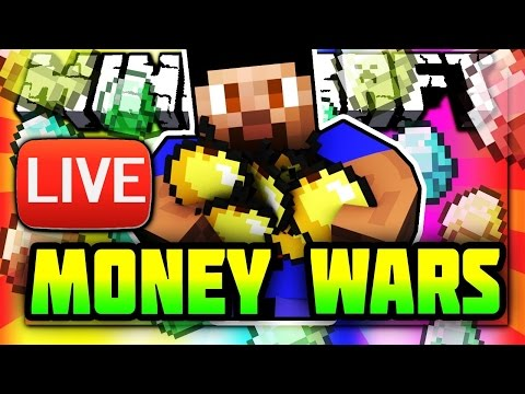 HOW MANY WINS CAN WE GET?! - MINECRAFT MONEY WARS LIVE