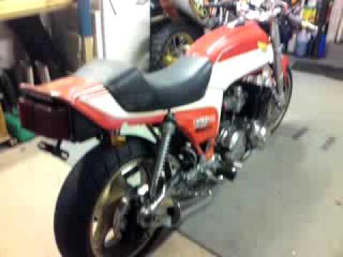 Honda Cb Cafe Racer >> Honda CB900F Bol d'Or 1981 - YouTube