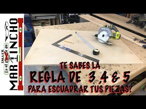 Como Cortar Tus piezas a ESCUADRA FACILMENTE from YouTube · Duration:  4 minutes 37 seconds