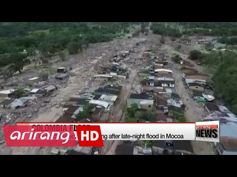 Colombia flood kills at least 254, hundreds still missing