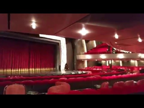 Royal Court Theater - Queen Mary 2 Cruise Ship Tour