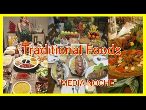 New Year's Eve: Traditional Filipino Foods