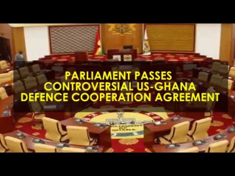 Parliament Approves Controversial Us Military Base Agreement Youtube