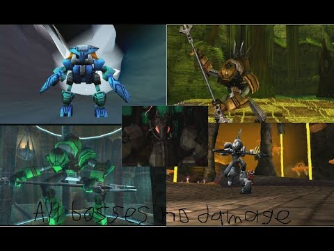 Bionicle Video Game All Bosses No Damage