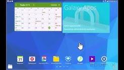 Android-tabletin käyttöönotto: Työpöydät