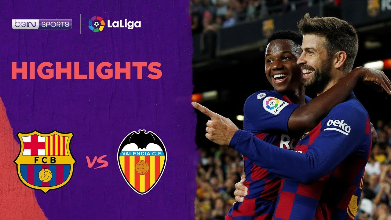 Barcelona 5-2 Valencia | LaLiga 19/20 Match Highlights
