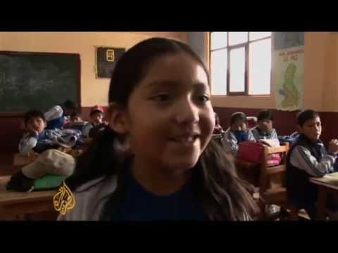 Bolivia schools back healthy indigenous food
