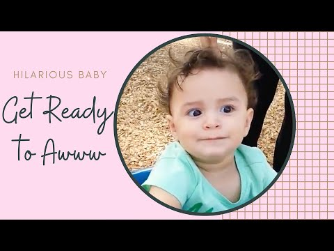 Funniest Babies To Playground First Time - Baby Outdoor Videos