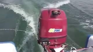 видео Подвесной двигатель лодочный. Подвесной лодочный мотор, выбор по типу и мощности