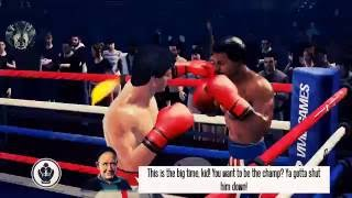 ROCKY VS APOLLO B*TCH @SS - Real Boxing 2: Rocky