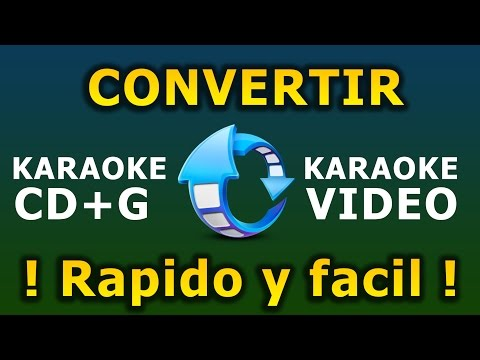 Convertir Karaoke a Video AVI | Karafun