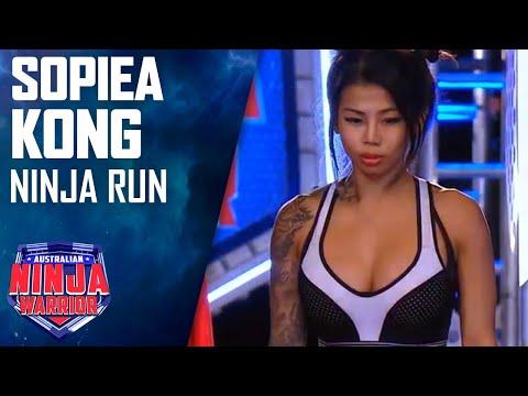 Sopiea Kong Full Run   Australian Ninja Warrior 2017