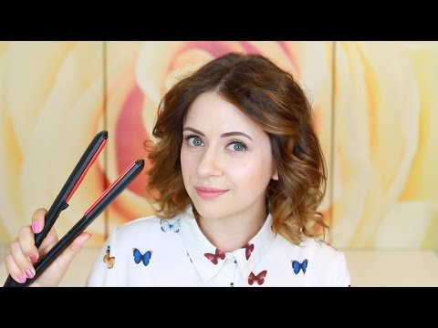 Стильная укладка коротких волос на утюжок от Nikkoko8 - All Things Hair