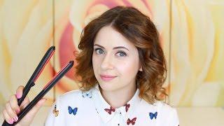 Как пользоваться выпрямителем для волос видео