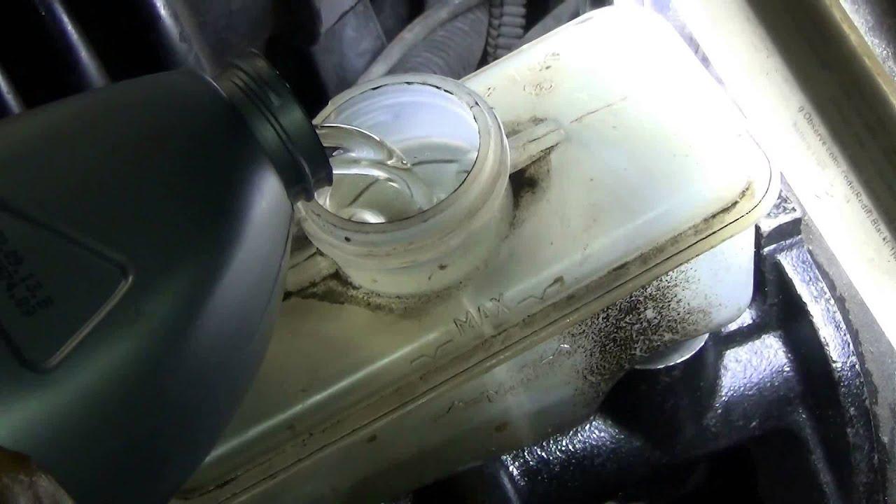 Замена тормозного цилиндра ВАЗ 2113
