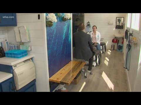 Mobile dentist's office comes to you