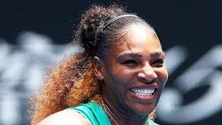 Serena Williams Wears Fishnet Stockings & Mini Catsuit At Aussie Open & Tennis Fans Go Wild  - News