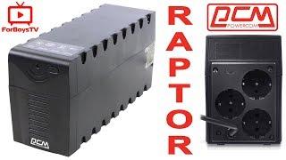 Недорогой ИБП для компьютера: POWERCOM RAPTOR RPT-1000A Schuko - обзор UPS с AVR