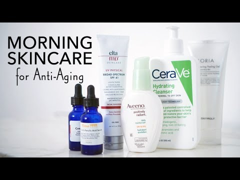 ANTI-AGING MORNING SKINCARE ROUTINE | No Nonsense Skincare for 30+ | Summer Skincare 2017 | LvL