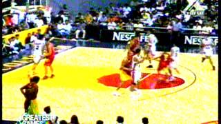 Barangay Ginebra vs. Batang Red Bull, PBA 2000 (25th season) Opening Game 2nd Quarter