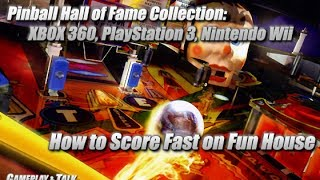 Williams Pinball Hall of Fame collection: Scoring Fast on Fun House