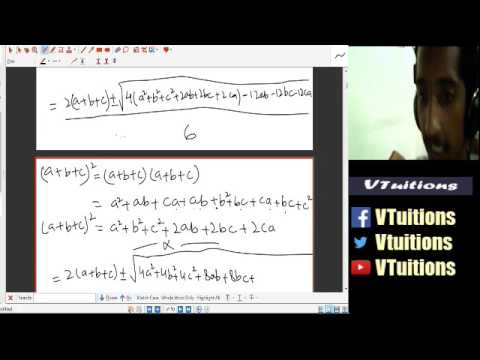 Chapter 3 Equations Part 2 Maths First Year Class - Sindh Board in Urdu and Hindi