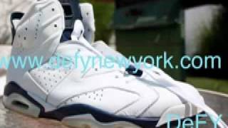 Nike Air Jordan VI White  Navy Blue 2000 Retro + c665a7988