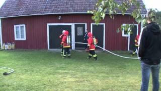 Kall Rökdyk övning 1 - Vegby Firefighters