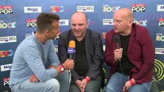 Interview with Hue & Cry at Let's Rock The Moor! 2016