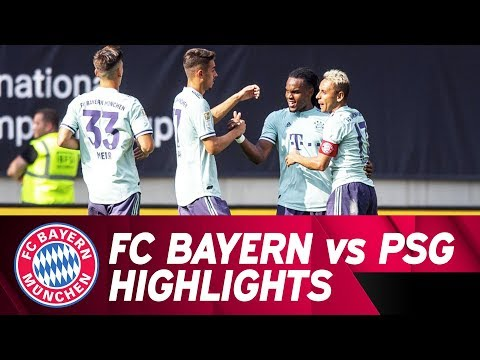 FC Bayern vs. Paris Saint-Germain 3-1 | Highlights | International Champions Cup