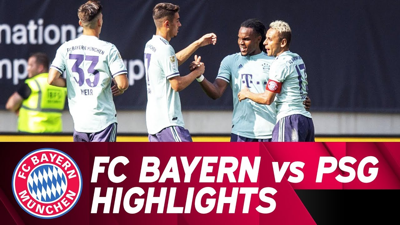 Fc Bayern Vs Paris Saint Germain 3 1 Highlights International Champions Cup Youtube