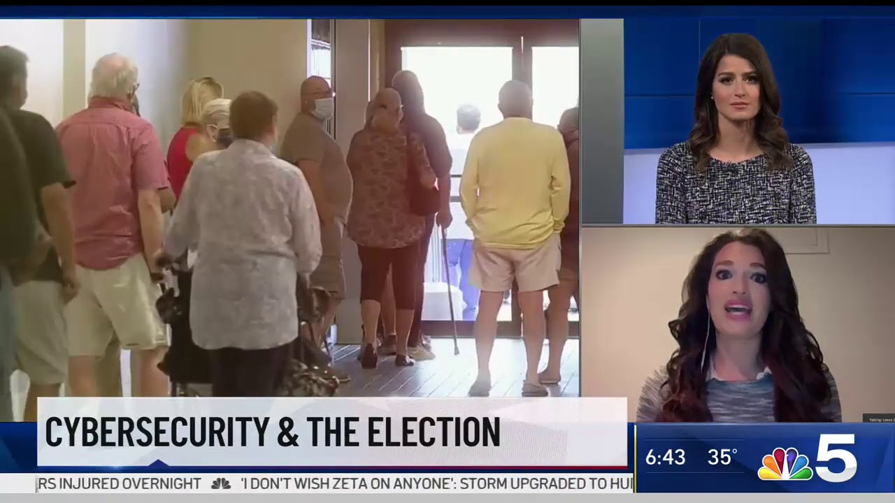 NBC 5 Chicago: Election Cybersecurity